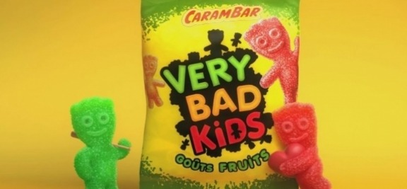 Fred & Farid joue les Very Bads Kids pour Carambar